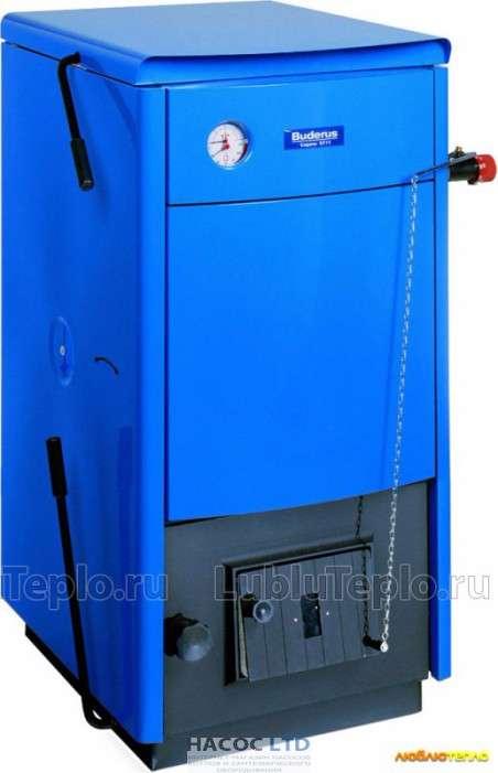 Твердотопливный котел BUDERUS LOGANO S111-32D WT (стальной)
