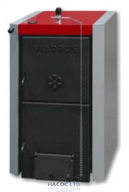 Котел твердотопливный VIADRUS U22 D 10 (49кВт)